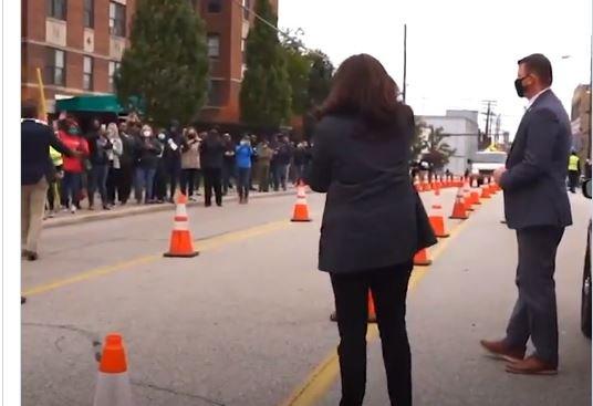 Kamala Harris Caught Violating Election Law (Video Proof)