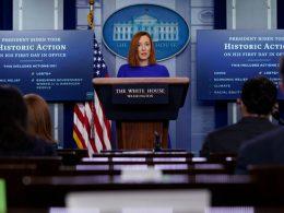 Biden Press Sec Caught LYING First Day on the Job