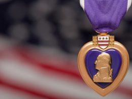 Lincolns Purple Heart Found