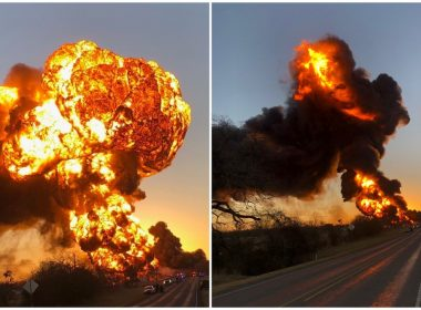 MASSIVE Explosion, Crews on the Scene