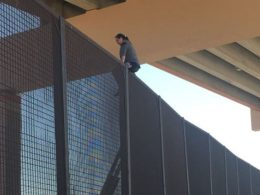 Fire Dept. Rescues Pregnant Illegal Alien From Top of Border Wall, Then Ships Her Right Back to Mexico
