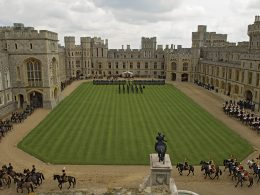 Royal Family and Guards on HIGH ALERT