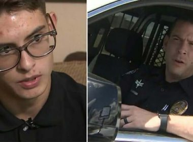 Cop Stops Troubled Teen Sprinting Down The Road, What Happened Next Breaks 30yr Cycle